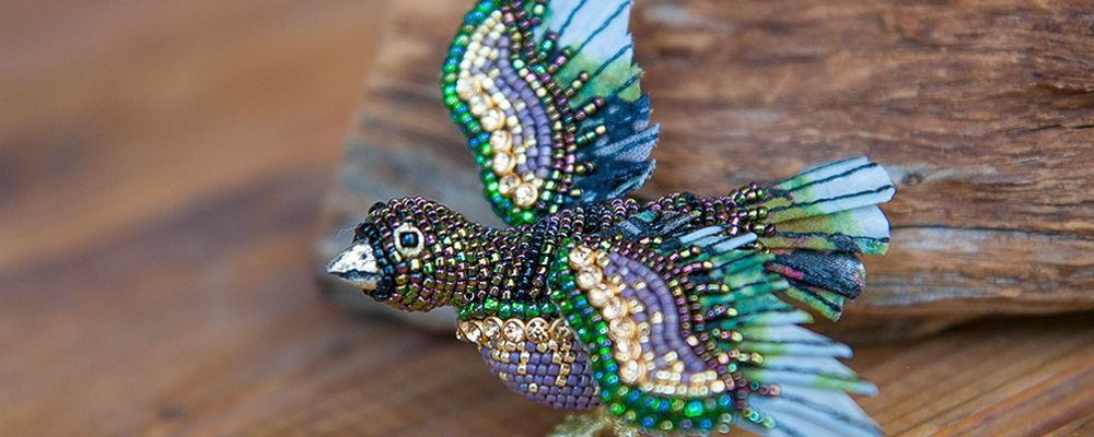 Уникальные украшения из бисера