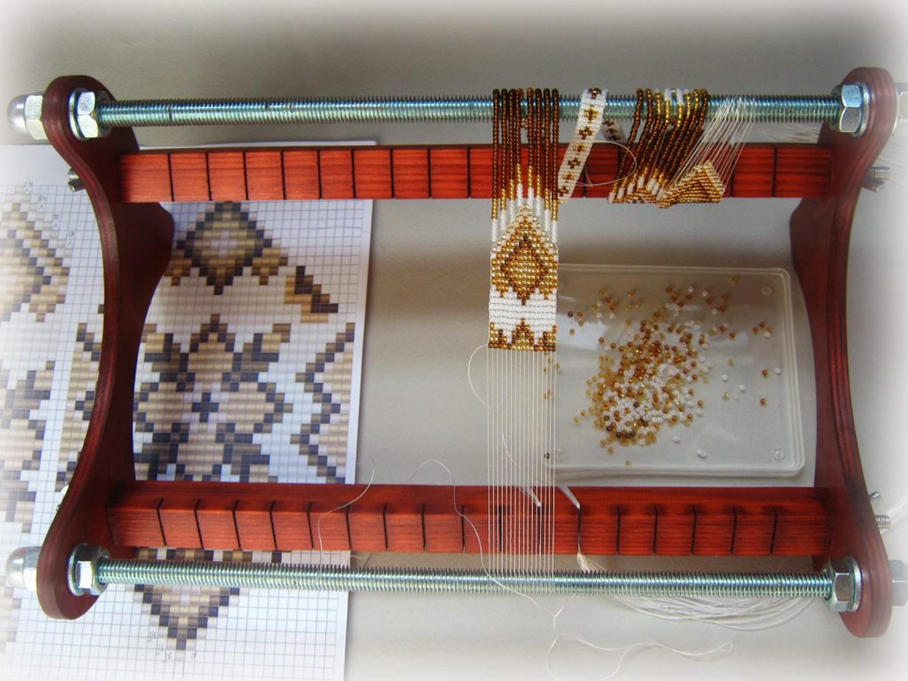 Бисерное ткачество
